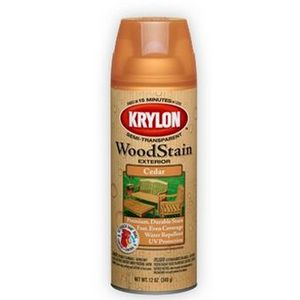 Krylon Exterior Semi-Transparent Wood Stain