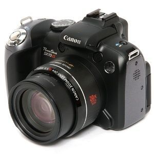 Canon - SX10 IS Digital Camera