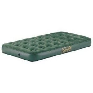 Coleman Twin Deluxe Air Mattress With Velour Top