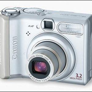 Canon - PowerShot A510 Digital Camera