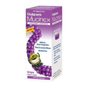 Mucinex Cold Liquid for Kids Expectorant and Nasal Decongestant