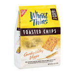 Kraft - Wheat Thins Toasted Chips Garden Valley Veggie