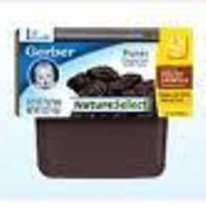 Gerber NatureSelect 1st Foods Prunes