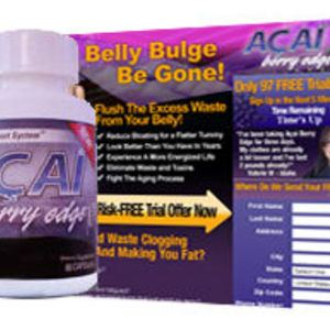 Acai Berry Edge Cleansing Support System
