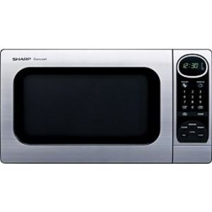 Sharp 1100 Watt 1.0 Cubic Feet Carousel Microwave Oven