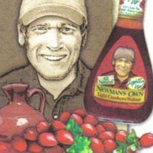 Newman's Own Lighten Up Cranberry Walnut Salad Dressing