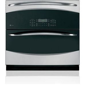 "GE Profile 30"" Single-Double Wall Oven PT925DNBB"