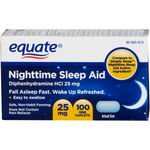 Equate Night Time Sleep Aid