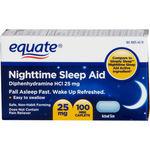 Equate Night Time Sleep Aid