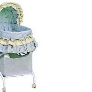 Precious Moments Folding Bassinet With Storage Basket