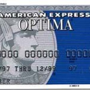 American Express - Optima Credit Card