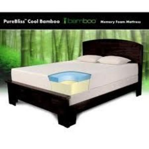 PureBliss Cool Bamboo Memory Foam Mattress