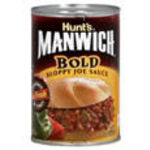 Hunt's Manwich Bold Sloppy Joe Sauce