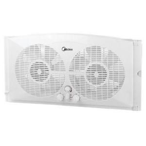 Pelonis 9-Inch Dual Window Fan