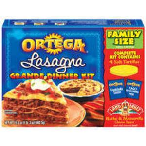 Ortega Lasagna Grande Dinner Kit