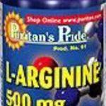 Puritan's Pride L-arginine