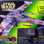 Hasbro Star Wars -The Power of the Force: Luke Skywalker's Red Five X-Wing Fighter (Electronic Power F/X)
