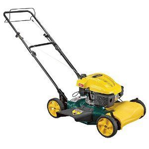 Yard Man 22-Inch 139cc MTD OHV Gas Powered Side Discharge/Mulching Self-Propelled Lawn Mower