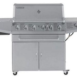 7aee0d9a9b4 ... 810-4675-1 Reviews. Brinkmann ProSeries 6-Burner Gas Grill