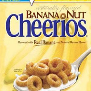 General Mills Banana Nut Cheerios