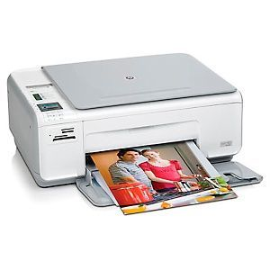 HP Photosmart C4345 All-In-One Printer