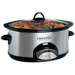 Crock-Pot 6-Quart Oval Smart-Pot Slow Cooker