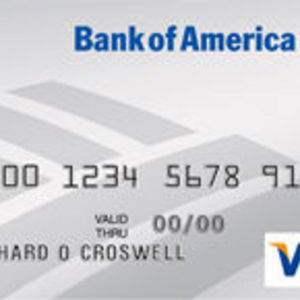 Bank of America - Financial Rewards Visa Platinum Plus