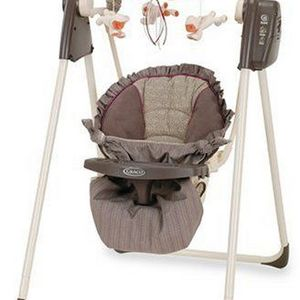 Graco Compact Baby Swing Laura Ashley - Canterbury