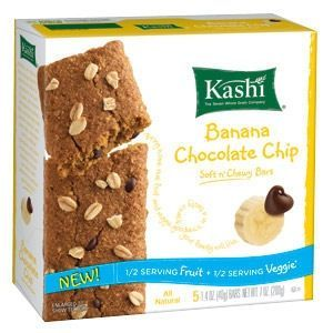 Kashi - Banana Chocolate Chip Soft 'n Chewy Bars