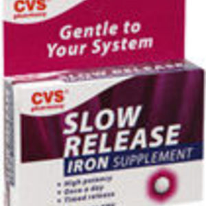 CVS Slow Release Iron Tablets