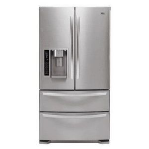 LG LMX21981S Stainless Steel (20.5 cu. ft.) Bottom Freezer French Door Refrigerator