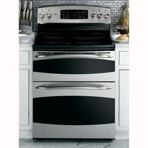 electric ranges 211 stainless steel freestanding double oven electric