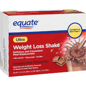 Equate Ultra Weight Loss Shake - Creamy Milk Chocolate