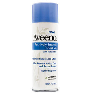Aveeno Positively Smooth Shave Gel