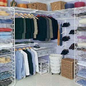 Charmant Elfa Wire Storage Shelving System
