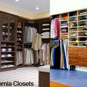 California Closet System Custom Closet