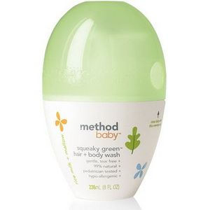 Method Baby Squeaky Green Hair + Body Wash