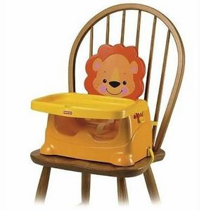 Fisher-Price Healthy Care Lion Booster Seat
