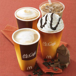 McDonalds McCafe Iced Mocha Coffee