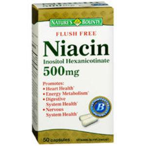 Nature's Bounty Flush-Free Niacin