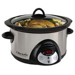 Rival Crock-Pot 5-Quart Countdown Slow Cooker