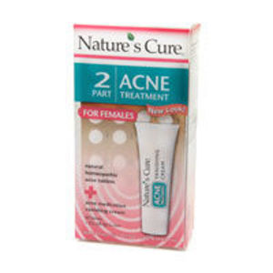 Nature's Cure 2 Step Acne Treatment for Women