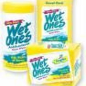 Wet Ones Citrus Scent Antibacterial Moist Wipes