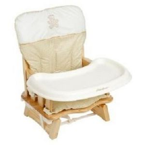 Eddie Bauer 2-Level Wood Booster Seat
