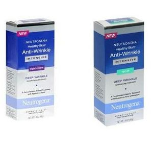 Neutrogena Healthy Skin Intensives Anti-Wrinkle (Day and Night Products)