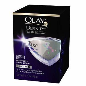 Olay Definity Night Restorative Sleep Cream
