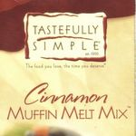 Tastefully Simple Cinnamon Muffin Melt Mix