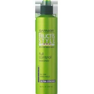 Garnier Fructis Full Control Hair Spray, Non-Aerosol, Extra Strong