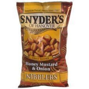 Snyder's of Hanover - Honey Mustard & Onion Nibblers