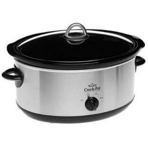 Rival 6.5-Quart Oval Slow Cooker